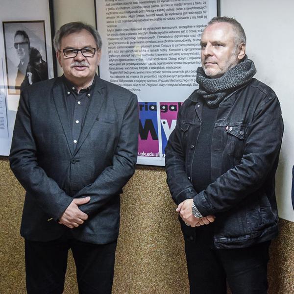 Wystawa plakatu prof.Sławomira Kosmynki