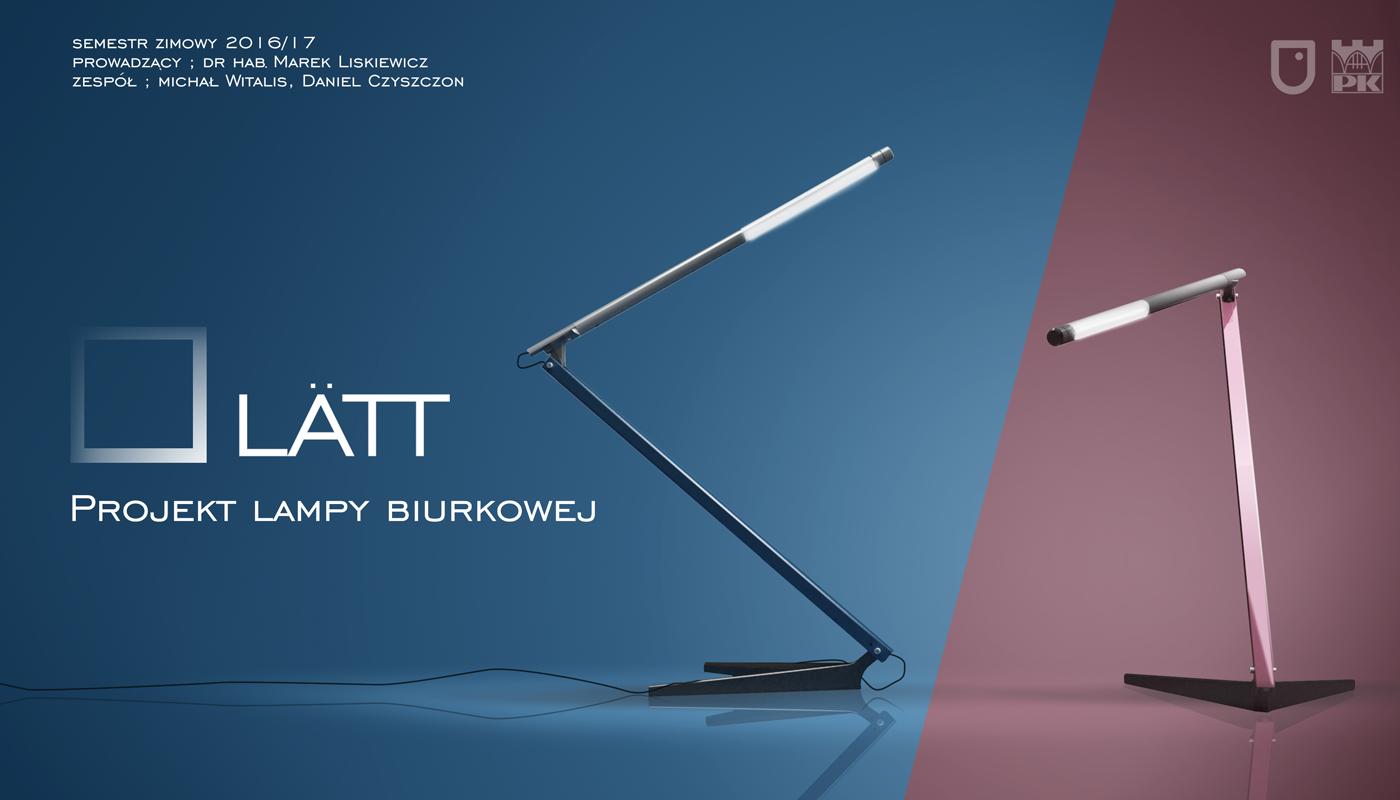 LATT – Lampa biurowa 04